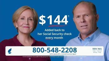 GoMedicare TV Spot, 'Mary and Bill: $144 Added Back'