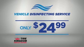 Tire Kingdom TV Spot, 'Thanksgiving: Buy Three Tires, Get One Free and Vehicle Disinfecting Service' - Thumbnail 4