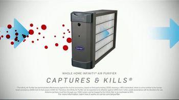 Carrier Infinity TV Spot, 'Greenspeed Heat Pump: Viruses' - Thumbnail 2