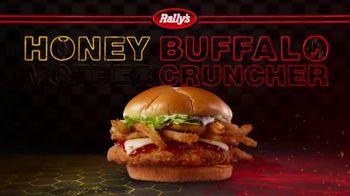 Rally's Honey Buffalo Mother Cruncher TV Spot, 'Sweet as Honey' - Thumbnail 3