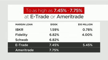Interactive Brokers Margin Loan TV Spot, 'Move Your Account to Interactive Brokers: 1.59%' - Thumbnail 5