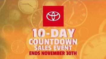 Toyota 10-Day Countdown Sales Event TV Spot, 'Hurry: Corolla' [T2] - Thumbnail 5