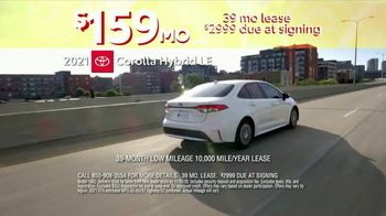 Toyota 10-Day Countdown Sales Event TV Spot, 'Hurry: Corolla' [T2] - Thumbnail 1