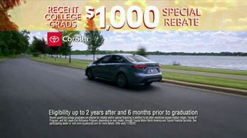 Toyota 10-Day Countdown Sales Event TV Spot, 'Hurry: Corolla' [T2] - Thumbnail 3