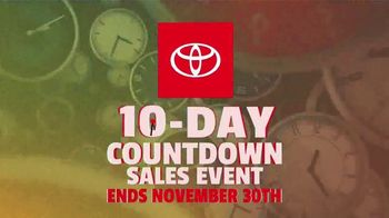 Toyota 10-Day Countdown Sales Event TV Spot, 'Hurry: Highlander and Venza' [T2] - Thumbnail 8
