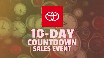 Toyota 10-Day Countdown Sales Event TV Spot, 'Hurry: Highlander and Venza' [T2] - Thumbnail 1