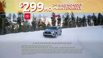 Toyota 10-Day Countdown Sales Event TV Spot, 'Hurry: Highlander and Venza' [T2] - Thumbnail 3