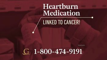 Goldwater Law Firm TV Spot, 'Heartburn Medications Linked to Cancer' - Thumbnail 2