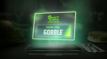 DraftKings Sportsbook TV Spot, 'Thanksgiving: No Brainer' - Thumbnail 3