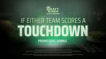 DraftKings Sportsbook TV Spot, 'Thanksgiving: No Brainer' - Thumbnail 6