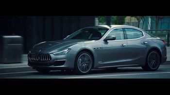 2020 Maserati Ghibli TV Spot, \'The Sounds of Luxury: Ghibli\' [T2]