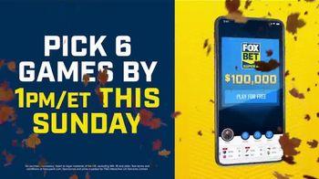 FOX Bet Super 6 App TV Spot, 'Win $100,000' Featuring Terry Bradshaw - 360 commercial airings