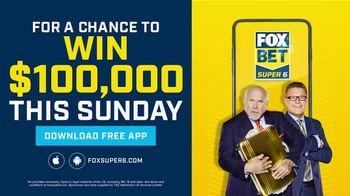 FOX Bet Super 6 App TV Spot, 'Win $100,000' Featuring Terry Bradshaw - Thumbnail 7