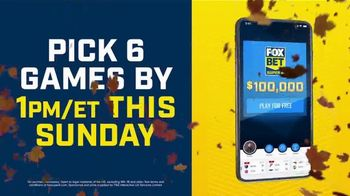 FOX Bet Super 6 App TV Spot, 'Win $100,000' Featuring Terry Bradshaw
