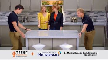 Trend Transformations TV Spot, 'Take a Hike: Microban and Financing'