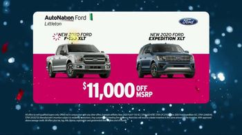 AutoNation Ford TV Spot, 'New Year Savings: 2020 F-150 XLT and Expedition XLT' - Thumbnail 5