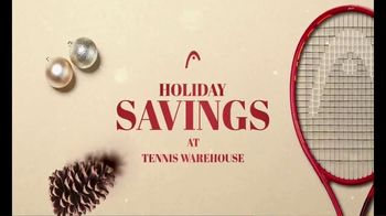 Tennis Warehouse Head Holiday Sale TV Spot, \'Shop Now: Racquets, Strings and Shoes\'