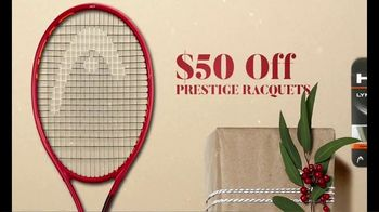 Tennis Warehouse Head Holiday Sale TV Spot, 'Shop Now: Racquets, Strings and Shoes' - Thumbnail 2