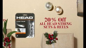 Tennis Warehouse Head Holiday Sale TV Spot, 'Shop Now: Racquets, Strings and Shoes' - Thumbnail 3