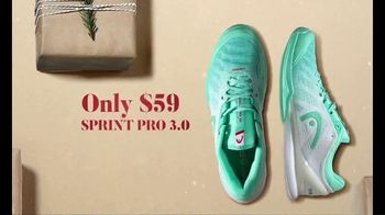 Tennis Warehouse Head Holiday Sale TV Spot, 'Shop Now: Racquets, Strings and Shoes' - Thumbnail 4