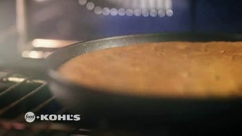 Kohl's TV Spot, 'Food Network: Holidays: Spice Skillet Cookie' Featuring Tregaye Fraser - Thumbnail 3