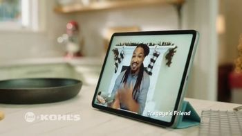 Kohl's TV Spot, 'Food Network: Holidays: Spice Skillet Cookie' Featuring Tregaye Fraser - Thumbnail 5