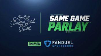 FanDuel Sportsbook TV Spot, 'Another Pretty Good Tweet' - Thumbnail 2