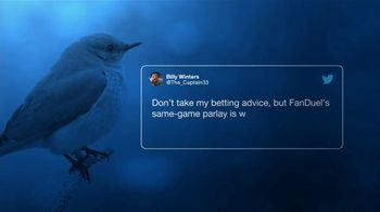FanDuel Sportsbook TV Spot, 'Another Pretty Good Tweet' - Thumbnail 3