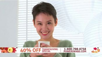 Power Swabs TV Spot, 'Thanksgiving Special: Coffee Stains'