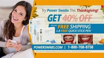 Power Swabs TV Spot, 'Thanksgiving Special: Coffee Stains' - Thumbnail 10