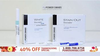 Power Swabs TV Spot, 'Thanksgiving Special: Coffee Stains' - Thumbnail 2