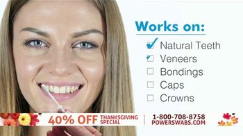 Power Swabs TV Spot, 'Thanksgiving Special: Coffee Stains' - Thumbnail 6