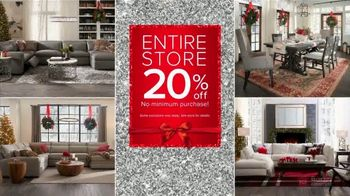 Value City Furniture Black Friday Sale TV Spot, '20% Off and Special Financing'