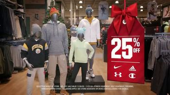 Dick's Sporting Goods Black Friday 25% off Sale TV Spot, 'Nike, adidas, Bikes and Hoops'