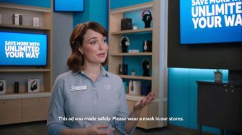 AT&T Wireless TV Spot, 'Unlimited Your Way: Lily Noise: Wonder Woman 1984' - 544 commercial airings