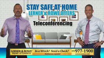 Lerner and Rowe Injury Attorneys TV Spot, 'Your Living Room Law Office' - Thumbnail 4