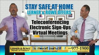Lerner and Rowe Injury Attorneys TV Spot, 'Your Living Room Law Office' - Thumbnail 5