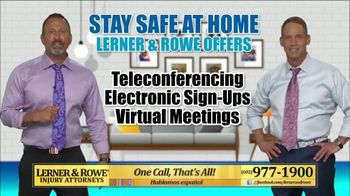 Lerner and Rowe Injury Attorneys TV Spot, 'Your Living Room Law Office' - Thumbnail 6