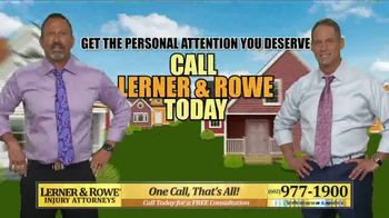 Lerner and Rowe Injury Attorneys TV Spot, 'Your Living Room Law Office' - Thumbnail 7