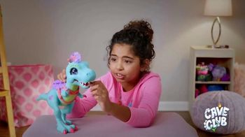 Cave Club Rockelle & Tyrasaurus Doll & Figure TV Spot, 'Prehistoric Friendship' - Thumbnail 2