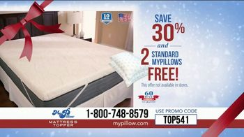 My Pillow Mattress Topper Mike's Christmas Special TV Spot, 'Too Hard or Too Soft' - Thumbnail 9