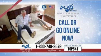 My Pillow Mattress Topper Mike's Christmas Special TV Spot, 'Too Hard or Too Soft' - Thumbnail 8