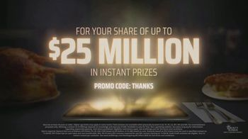 DraftKings Daily Fantasy TV Spot, '$25 Million Thanksgiving Giveaway' - Thumbnail 7