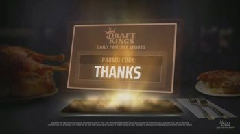 DraftKings Daily Fantasy TV Spot, '$25 Million Thanksgiving Giveaway' - Thumbnail 4