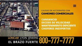 Loncar & Associates TV Spot, 'Exceso de velocidad' [Spanish]