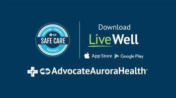 Advocate Aurora Health TV Spot, 'Be on the Safe Side: Online Symptom Checker' - Thumbnail 9