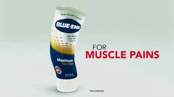 Blue-Emu Maximum Pain Relief TV Spot, 'From Pains to Strains'