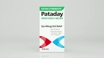 Pataday Once Daily Relief Extra Strength TV Spot, 'Eye Allergens on the Attack' - Thumbnail 4