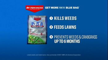 BioAdvanced 3 in 1 Weed & Feed TV Spot, 'Perfect for Texas Lawns' - Thumbnail 6