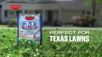 BioAdvanced 3 in 1 Weed & Feed TV Spot, 'Perfect for Texas Lawns' - Thumbnail 1